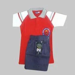 Summer Kids Boy School Uniform