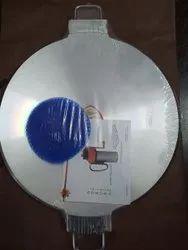 Silver Aluminium Dosa Tawa 300 mm Mirror, For Home