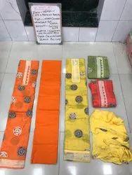 INDIAN Unstitched Hema 1 Cotton Suits, Handwash