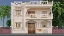 Brown Natural Luxury Sand Stone Homes, For Wall Tile, Size: 25*50