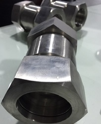 Straight Coupling 48 mm