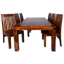 Wooden Dining Table Set