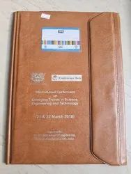 Brown PVC File Folder, For Office, Paper Size: A4