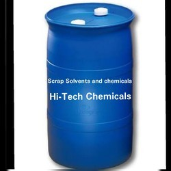 Scrap Solvents And Chemicals