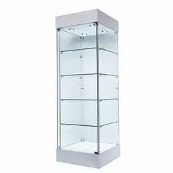 Toughened Glass Display Counter