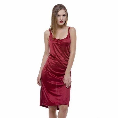 Nighties Plain Ladies Fancy Night Wear 8e9f75512