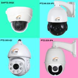 SPEED DOME PTZ CAMERA - 3X PURE OPTICAL ZOOM LENS, DAPTZ-3X -Q3-2.2MP