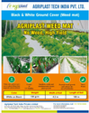 Weed Mat (Ground Cover) Black and White 130 GSM