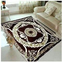 Evight Rectangular Cotton Floor Carpet, Size: 54 X 66 Inch