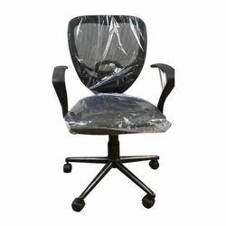 Black Mesh Fabric Office Chair