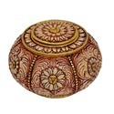 FRP Carved Box with Lid