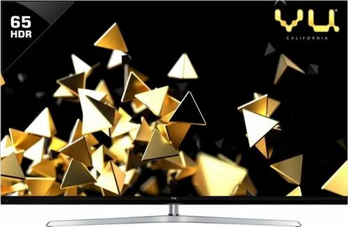 Vu Quantum Pixelight 165cm (65 inch) Ultra HD (4K) QLED Smart TV, Model ID: 65 HQ137