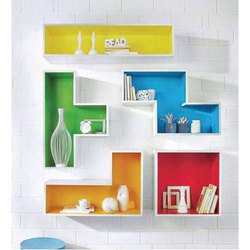 Multi Color PVC Wall Shelf