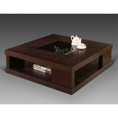 Wooden Square Center Tables, Rs 12500 /piece, Walnut ...