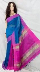 Cotton silk kusumdola handloom saree