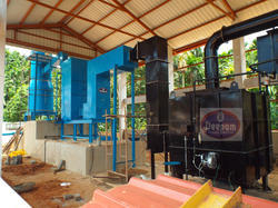 Incinerator With Pollution Control Equipments