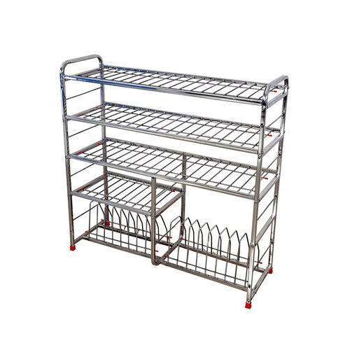 Stainless Steel Kitchen Utensils Rack