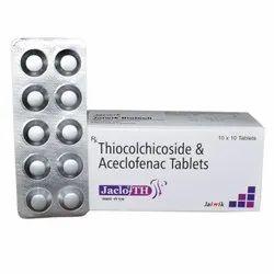 Aceclofenac 100 mg & Thiocolchicoside 4mg Tab