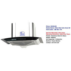 Blue Star Auto Clean 60 Kitchen Chimney