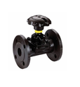 PTFE Lined Weir Type Diaphragm Valve