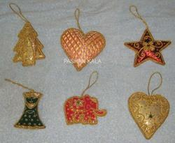 Christmas Decoration Hangings Embroidery