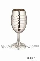 Pure Silver Wine Glass