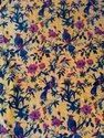 Bird Printed Velvet Fabric