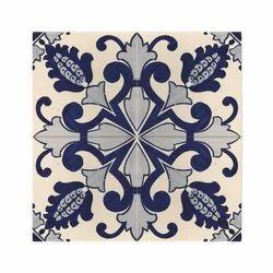 Kajaria And Jaquar Ceramic Hand Print Tile