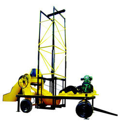 Semi-Automatic Builder Portable Tower Hoist Cum Mixer