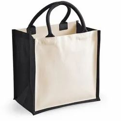 Jute With Canvas Bag