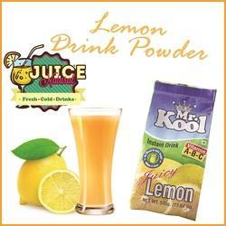 Lemon Flavoured Instant Drink Powder