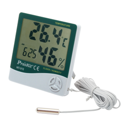 Thermo Hygrometer Digital With Probe