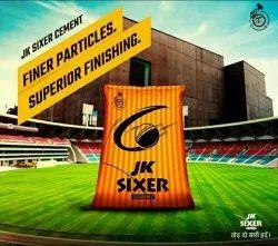 Jk Sixer Cement, Grade: Grade 53