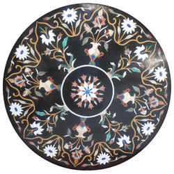 Beautiful Marble Inlay Table Top