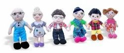 MS-24 Plush Toys Family, Child Age Group: 4-6 Years