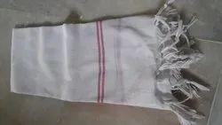 White Gamcha, Size: 27x66