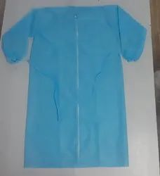 Stitched Non Woven Disposable Gown