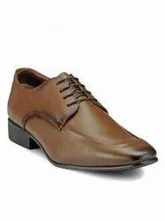 Formal Teakwood Genuine Leather Derby Shoes