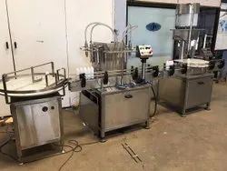 Chamunda Pharma Tech Edible Oil Filling Machine