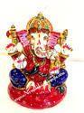 Decorative Metallic Ganesha Statue