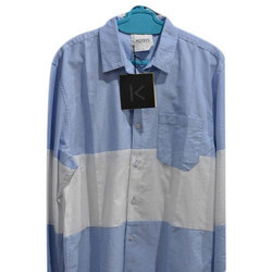 Casual Wear Plain Mens Shirts, Size: Large And XL