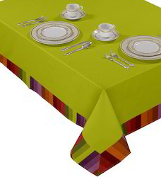Plain Table Cloth With Border