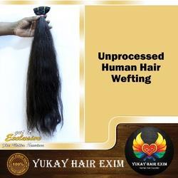 Unprocessed Human Hair Wefting