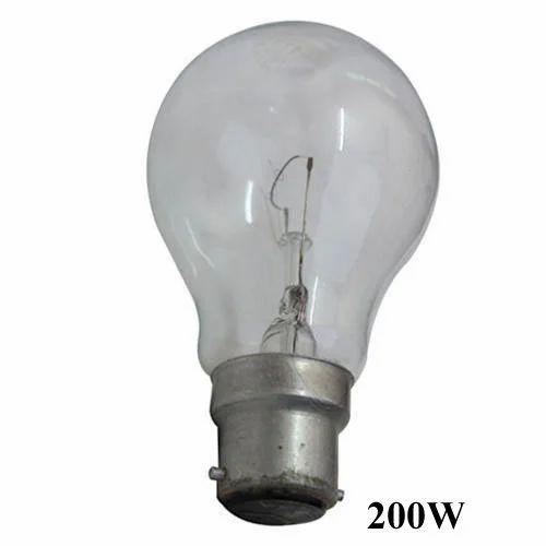 200w Gls Light Bulb