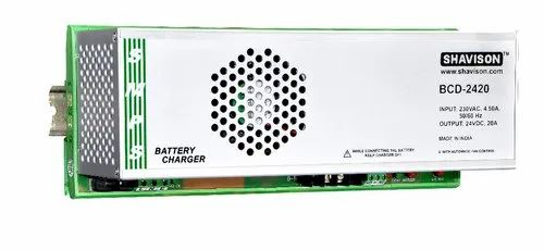 Battery Charger 24VDC/20A-SMPS Based - Rajshree Electronics