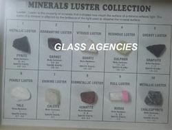 Minerals Luster Collection of 10 Minerals for Industrial