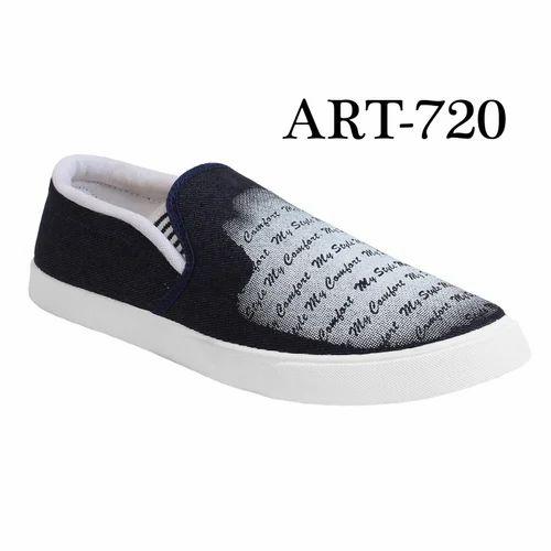 d7cce19482 Sporter Men Blue-720 Denim Party Wear Casual Shoes, Size: 6 To 10 ...