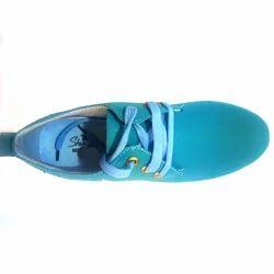 Men Canvas Blue Sneaker Shoes, Size: 7-10