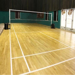 Badminton Wooden Sports Flooring