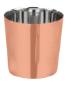Plain Chip Cup Dia 8.5 Copper Coated